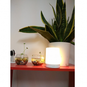 PLATINET LED LAMP SPEAKER PDLSB01 bílá Led lampa s bluetooth reproduktorem